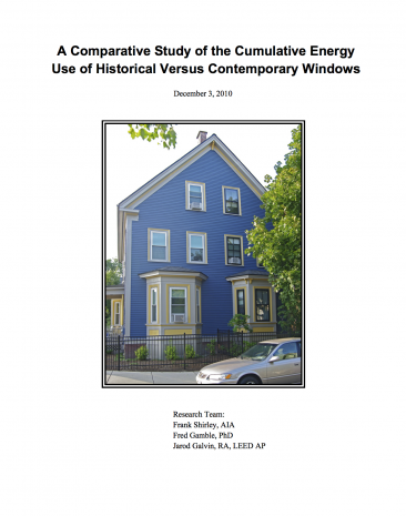 FSA - Comparative Window Study